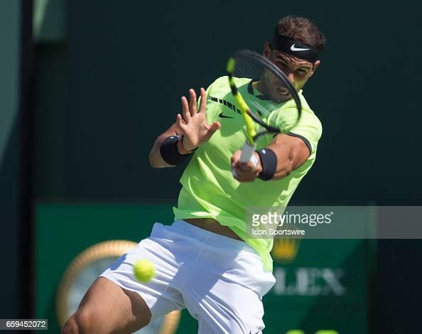 TENNIS: MAR 28 Miami Open : Photo d'actualité