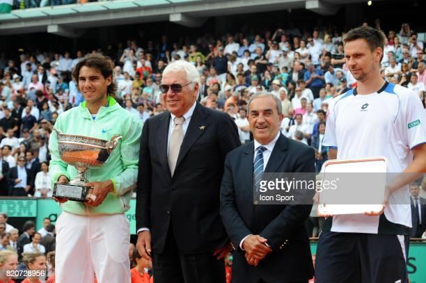 Rafael NADAL / Nicola PIETRANGELI / Jean GACHASSIN / Robin SODERLING Finale Simple Messieurs Roland Garros 2010