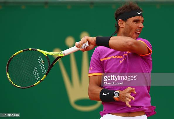 ATP Masters Series: Monte Carlo Rolex Masters - Day Eight : Photo d'actualité