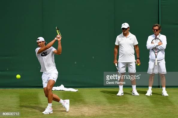 Day One: The Championships - Wimbledon 2017 : Photo d'actualité