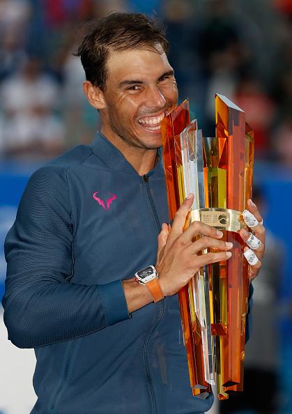 Mubadala World Tennis Championship - Day Three : Fotografía de noticias