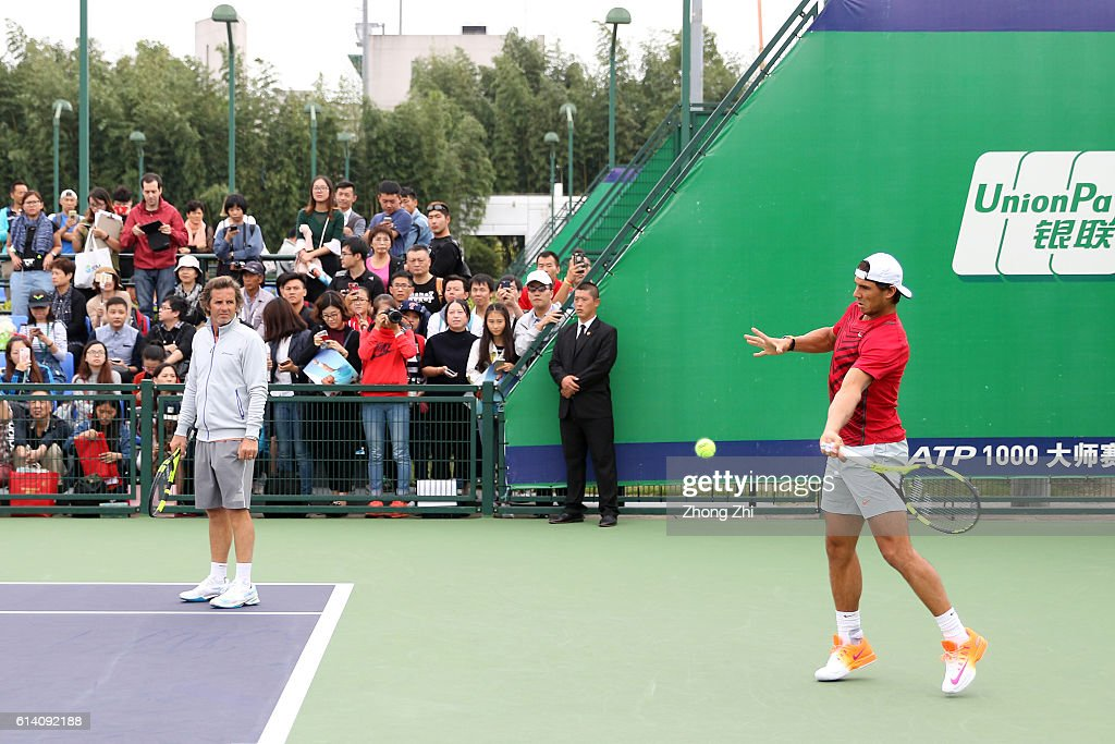 ATP Shanghai Rolex Masters 2016 - Day 4 : Photo d'actualité