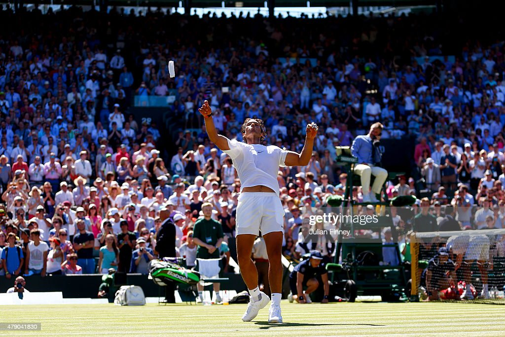 Day Two: The Championships - Wimbledon 2015