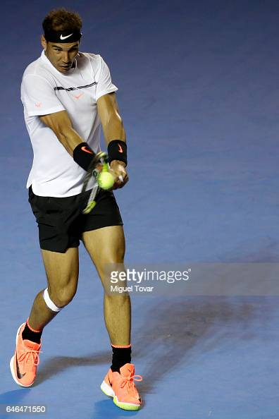 Abierto Mexicano Telcel Day 2 - Zverev v Nadal : Photo d'actualité