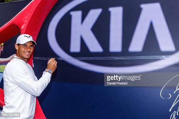 KIA VIK Fleet Vehicle Handover Ceremony - Australian Open 2017 : Photo d'actualité