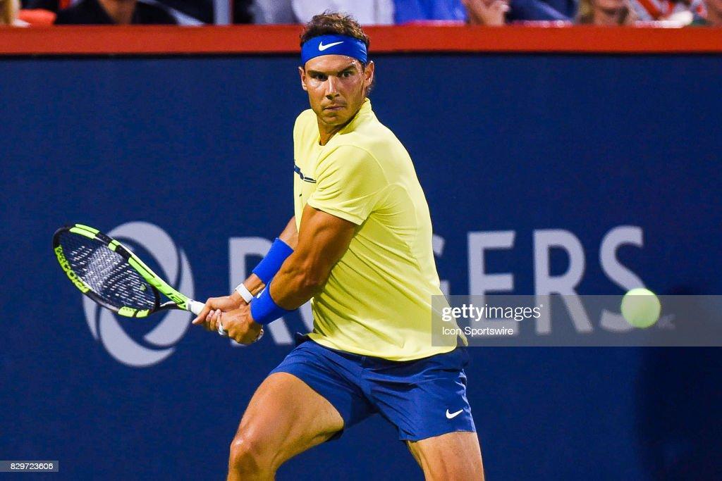 TENNIS: AUG 10 ATP Coupe Rogers : Photo d'actualité