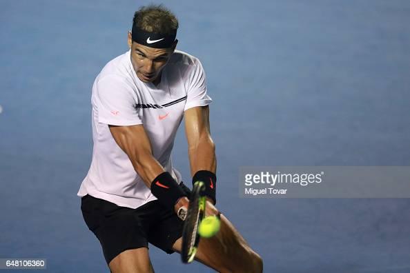 Abierto Mexicano Telcel Finals - Querrey v Nadal : Photo d'actualité