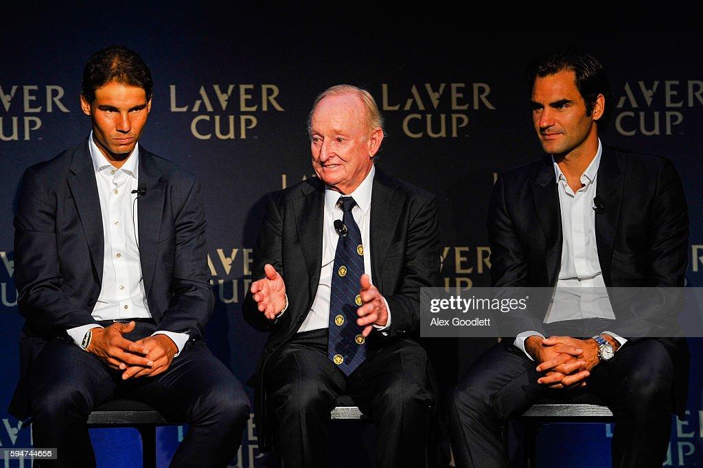 Laver Cup Media Announcement : Photo d'actualité