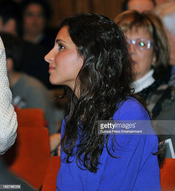 Rafael Nadal's girlfriend Xisca Perello attends a piano recital at Gran del Teatre Liceu on March 14 2013 in Barcelona Spain
