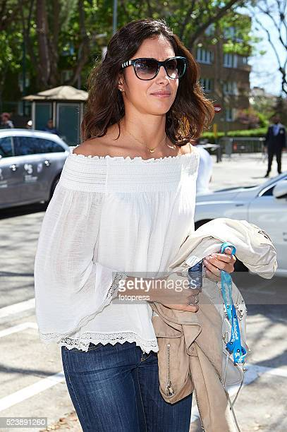 Rafael Nadal's girlfriend Xisca Perello attends day six of the Barcelona Open Banc Sabadell at the Real Club de Tenis Barcelona on April 24 2016 in...
