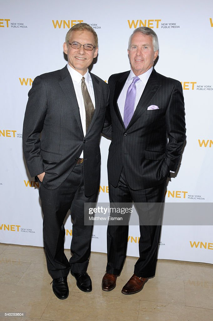 Rafael Pi Roman and Jack Ford attend the 2016 WNET Gala Salute to New York at The Plaza Hotel on June 14 2016 in New York City