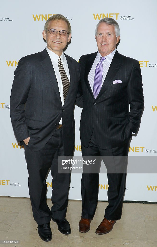 Rafael Pi Roman and TV personality Jack Ford attend the 2016 WNET Gala Salute to New York at The Plaza Hotel on June 14 2016 in New York City