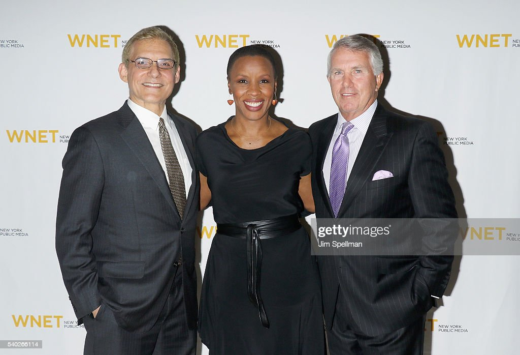 Rafael Pi Roman Jenna Flanaganand Jack Ford attend the 2016 WNET Gala Salute to New York at The Plaza Hotel on June 14 2016 in New York City
