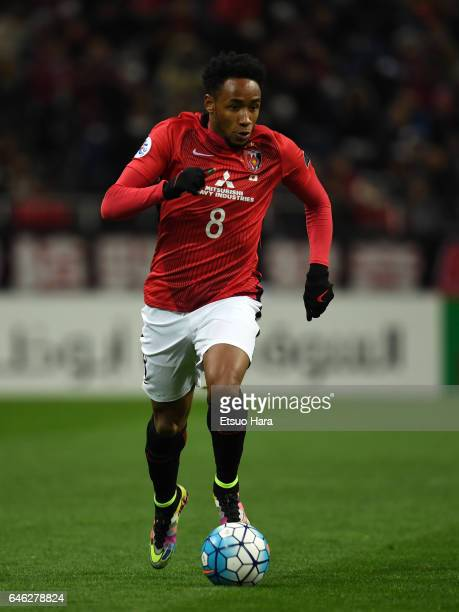 Rafael Silva of Urawa Red Diamonds in action during the AFC Champions League match Group F match between Urawa Red Diamonds and FC Seoul at Saitama...