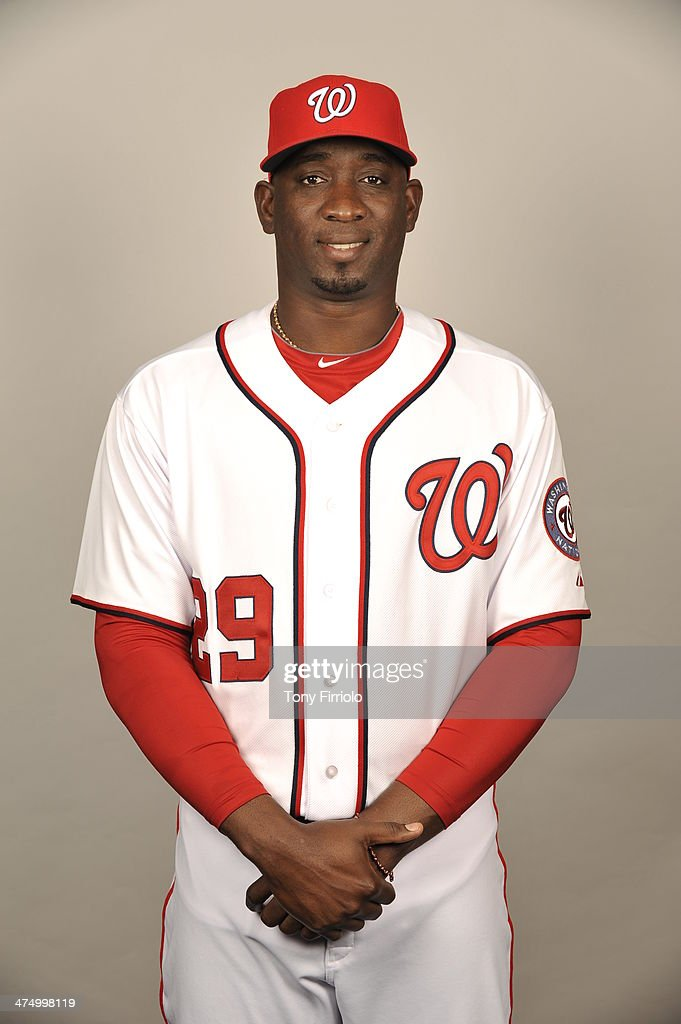 <a gi-track='captionPersonalityLinkClicked' href=/galleries/search?phrase=Rafael+Soriano&family=editorial&specificpeople=587892 ng-click='$event.stopPropagation()'>Rafael Soriano</a> #29 of the Washington Nationals poses during Photo Day on February 23, 2014 at Space Coast Stadium in Viera, Florida.