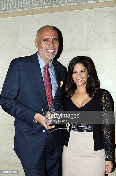 Rafael Toro and Darlene Rodriguez attend the 6th Annual Christian Rivera Foundation Gala at Broad Street Ballroom on November 11 in New York City