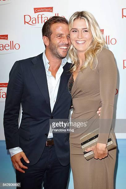 Rafael van der Vaart and Estavana Polman attend the Raffaello Summer Day 2016 to celebrate the 26th anniversary of Raffaello on June 24 2016 in...