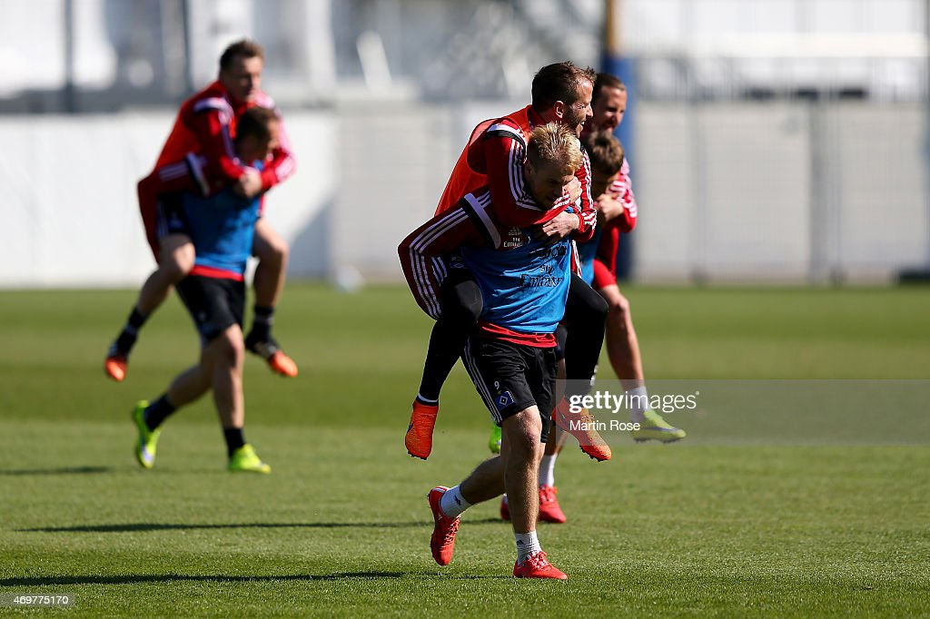 Hamburger SV: Hamburger SV - Training & Press Conference