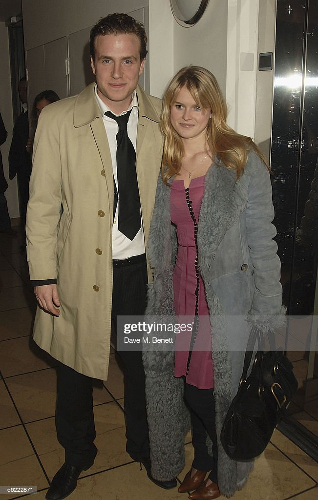 Rafe Spall and Alice Eve attend the aftershow party followlng the UK Premiere of 'Stoned,' at Century on November 17, 2005 in London, England. The British film chronicles the life and death of Rolling Stones co-founder Brian Jones, found drowned just weeks after being let go from the band.