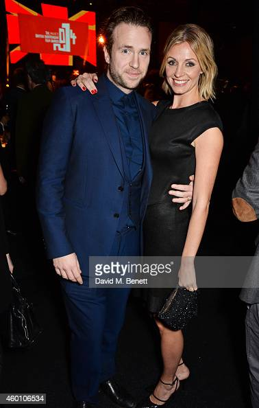 Rafe Spall and Elize du Toit attend The Moet British Independent Film Awards 2014 at Old Billingsgate Market on December 7 2014 in London England