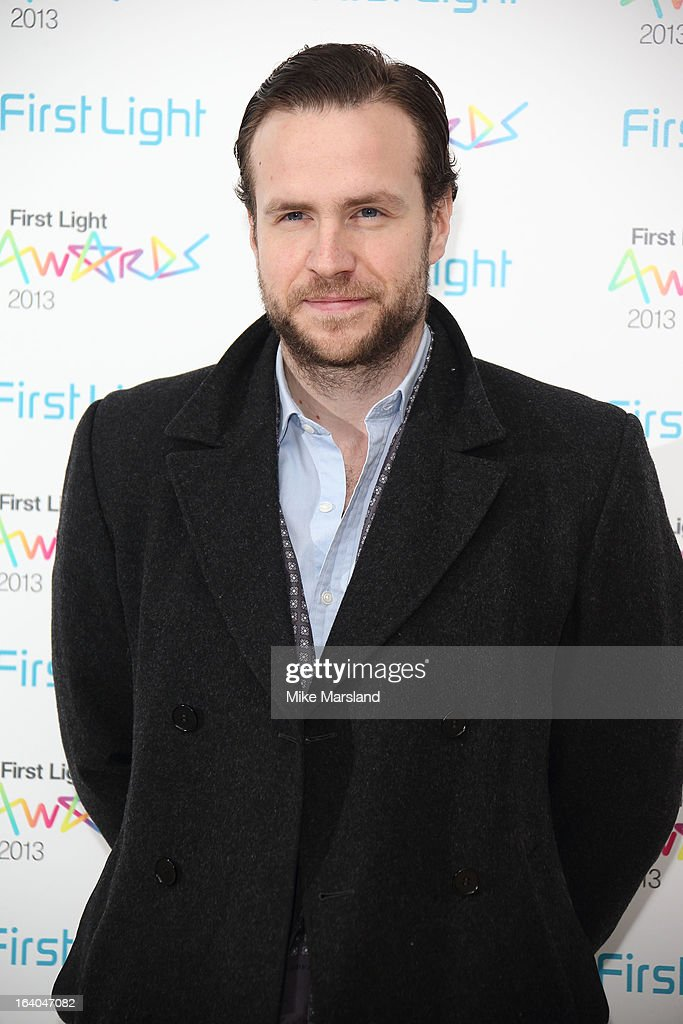 Rafe Spall attends the First Light Awards at Odeon Leicester Square on March 19, 2013 in London, England.