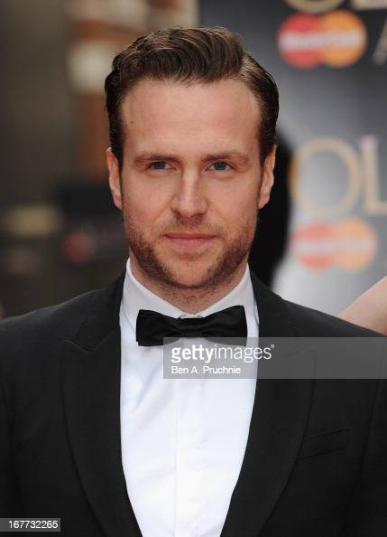 Rafe Spall attends The Laurence Olivier Awards at the Royal Opera House on April 28 2013 in London England
