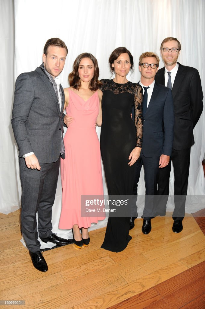 Rafe Spall, <a gi-track='captionPersonalityLinkClicked' href=/galleries/search?phrase=Rose+Byrne&family=editorial&specificpeople=206670 ng-click='$event.stopPropagation()'>Rose Byrne</a>, <a gi-track='captionPersonalityLinkClicked' href=/galleries/search?phrase=Minnie+Driver&family=editorial&specificpeople=201884 ng-click='$event.stopPropagation()'>Minnie Driver</a>, <a gi-track='captionPersonalityLinkClicked' href=/galleries/search?phrase=Simon+Baker&family=editorial&specificpeople=206176 ng-click='$event.stopPropagation()'>Simon Baker</a> and <a gi-track='captionPersonalityLinkClicked' href=/galleries/search?phrase=Stephen+Merchant&family=editorial&specificpeople=646779 ng-click='$event.stopPropagation()'>Stephen Merchant</a> attend the European Premiere of 'I Give It A Year' at Vue West End on January 24, 2013 in London, England.