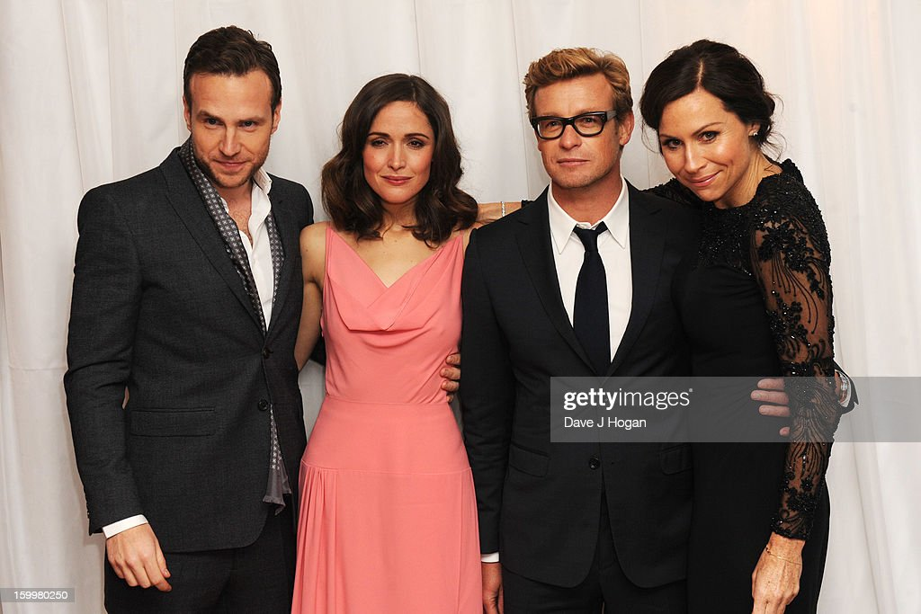 Rafe Spall, <a gi-track='captionPersonalityLinkClicked' href=/galleries/search?phrase=Rose+Byrne&family=editorial&specificpeople=206670 ng-click='$event.stopPropagation()'>Rose Byrne</a>, <a gi-track='captionPersonalityLinkClicked' href=/galleries/search?phrase=Simon+Baker&family=editorial&specificpeople=206176 ng-click='$event.stopPropagation()'>Simon Baker</a> and <a gi-track='captionPersonalityLinkClicked' href=/galleries/search?phrase=Minnie+Driver&family=editorial&specificpeople=201884 ng-click='$event.stopPropagation()'>Minnie Driver</a> attend the European premiere of 'I Give It A Year' at The Vue West End on January 24, 2013 in London, England.