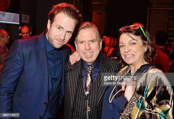 Rafe Spall Timothy Spall and Shane Spall attend an after party celebrating The Moet British Independent Film Awards 2014 at Old Billingsgate Market...