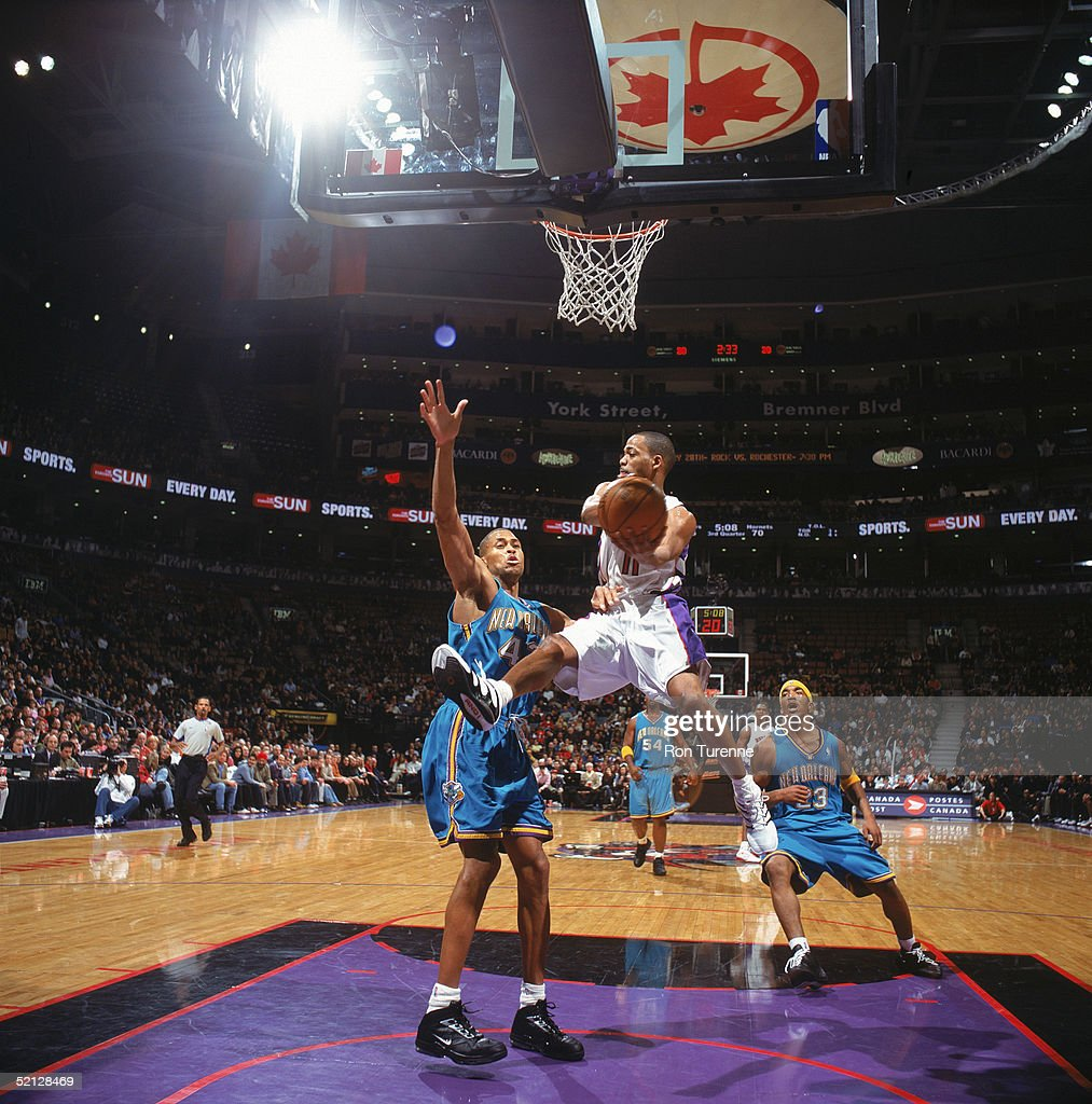 New Orleans Hornets v Toronto Raptors s and