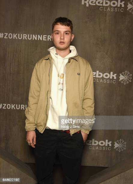 Raff Law attends the global launch of Reebok Classics new Zoku Runner at Village Underground on March 2 2017 in London England