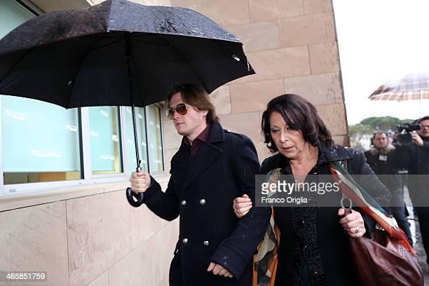 Raffaele Sollecito arrives at the Nuovo Palazzo di Giustizia courthouse of Florence for the final verdict of the Amanda Knox and Raffaele Sollecito...
