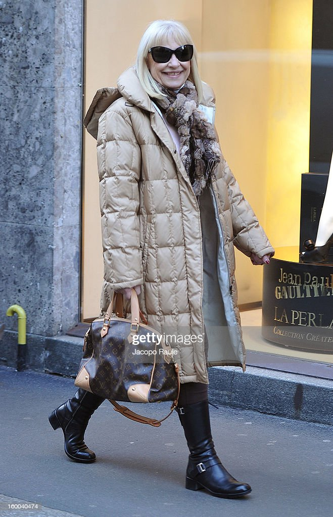 Celebrity Sightings In Milan - January 25, 2013