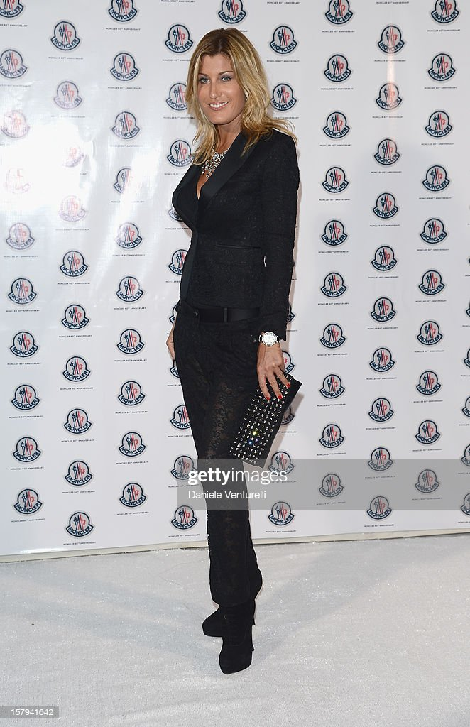 Raffaella Zardo attend a private dinner celebrating Remo Ruffini and Moncler's 60th Anniversary during Art Basel Miami Beach on December 7, 2012 in Miami Beach, Florida.