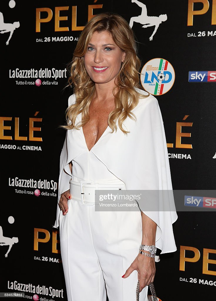 Raffaella Zardo attends the 'Pele' Red Carpet In Milan on May 26, 2016 in Milan, Italy.