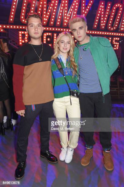 Rafferty Law Anais Gallagher and GabrielKane DayLewis attend the Tommy Hilfiger TOMMYNOW Fall 2017 Show during London Fashion Week September 2017 at...