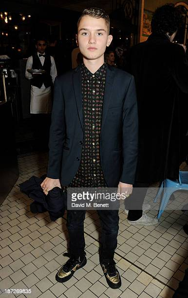 Rafferty Law attends as CARVEN celebrates its first UK boutique opening at Bibendum hosted by Creative Director Guillaume Henry on November 7 2013 in...