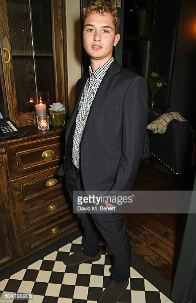 Rafferty Law attends COACH Men's Fall/Winter 2016 Party hosted by Stuart Vevers at The Lady Ottoline on January 9 2016 in London England