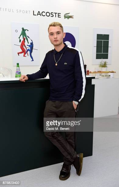 Rafferty Law attends Lacoste VIP Lounge during 2017 ATP World Tour Semi Finals at The O2 Arena on November 18 2017 in London England