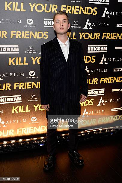 Rafferty Law attends the Al Films and Warner Music Screening of Kill Your Friends on October 27 2015 in London England