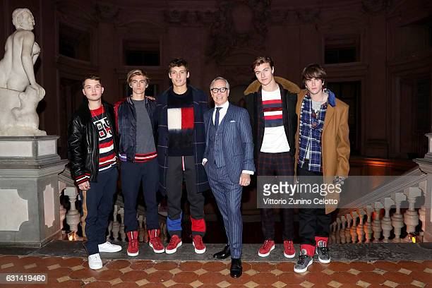 Rafferty Law Presley Gerber Julian Ocleppo Tommy Hilfiger Gabriel Kane Lewis and Lucky Blue Smith attend Hilfiger Edition Fall2017 Presentation on...
