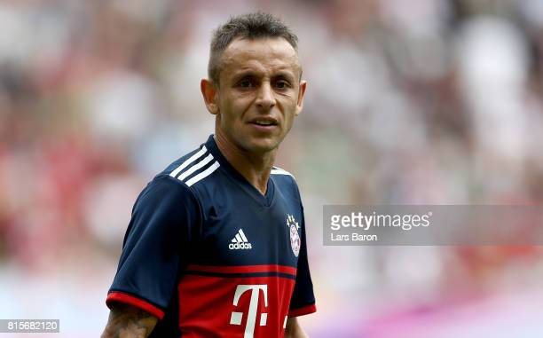 Rafinha of Muenchen looks on during the Telekom Cup 2017 match between Bayern Muenchen and 1899 Hoffenheim at on July 15 2017 in Moenchengladbach...