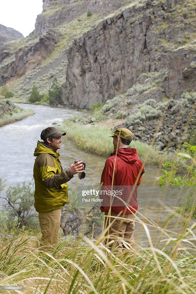 Rafting / Camping Trip on the Bruneau River, ID. : Stock Photo