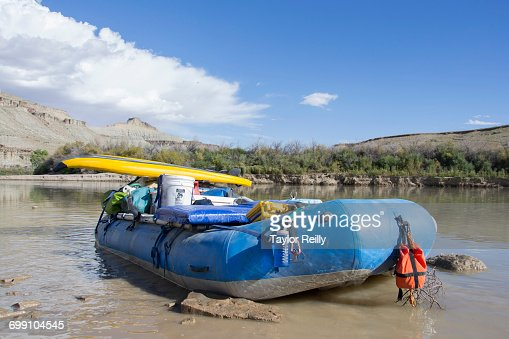 Rafting in Desolation and Gray Canyons, Green River, Utah.
