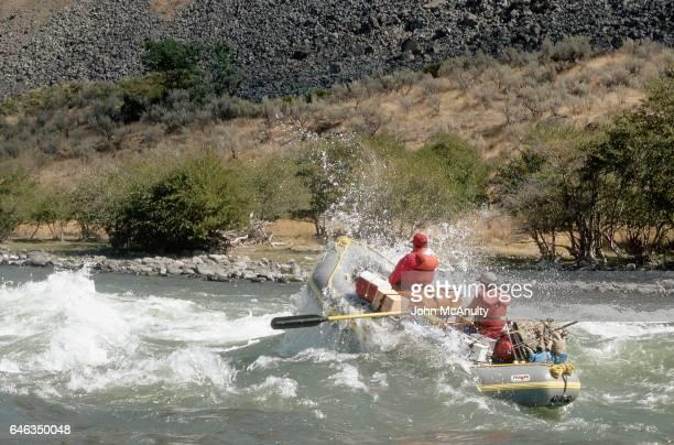 Rafting Through Heavy Rapids