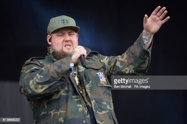 Rag n Bone man performs on the Other Stage at Glastonbury Festival Worthy Farm Somerset PRESS ASSOCIATION Photo Picture date Sunday June 2017 Photo...