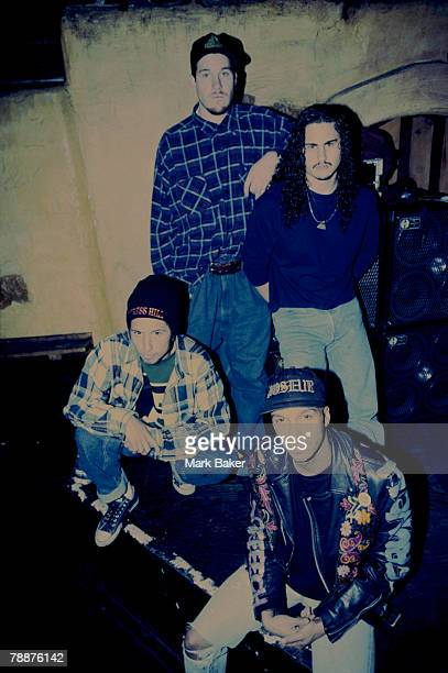 Rage Against The Machine Press Shoot London
