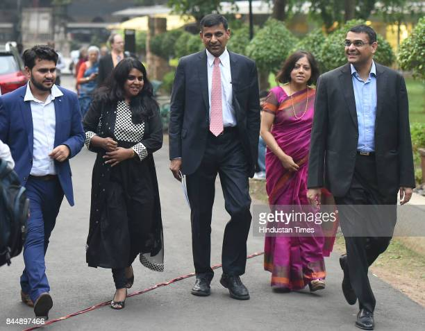 Raghuram Rajan former Governor of the Reserve Bank of India after the release of his book 'I Do What I Do' at Chhatrapati Shivaji Museum on September...