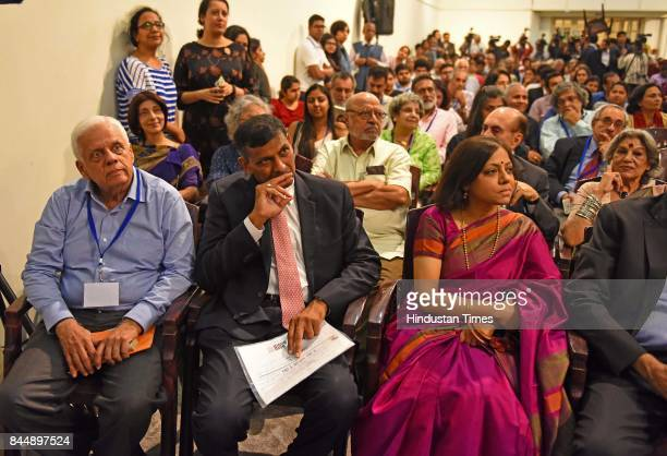 Raghuram Rajan former Governor of the Reserve Bank of India during the release of his book 'I Do What I Do' at Chhatrapati Shivaji Museum on...