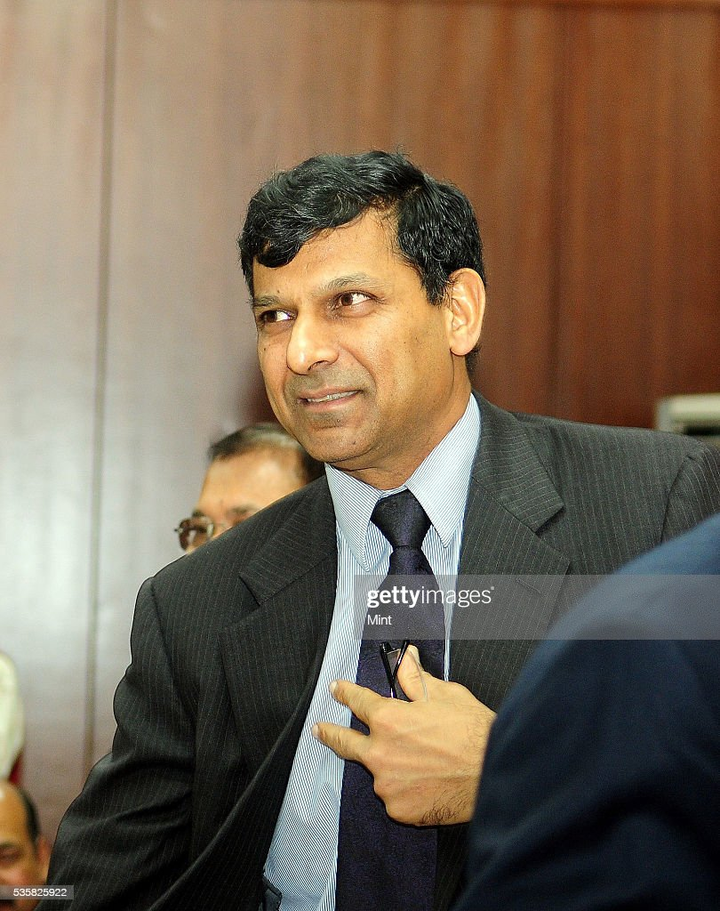 Raghuram Rajan, Governor of Reserve Bank of India, after the 555th Central Board meeting at RBI office, where he said that RBI is expecting a zero to 25 basis points hike in US Fed rates on December 11, 2015 in Kolkata, India.
